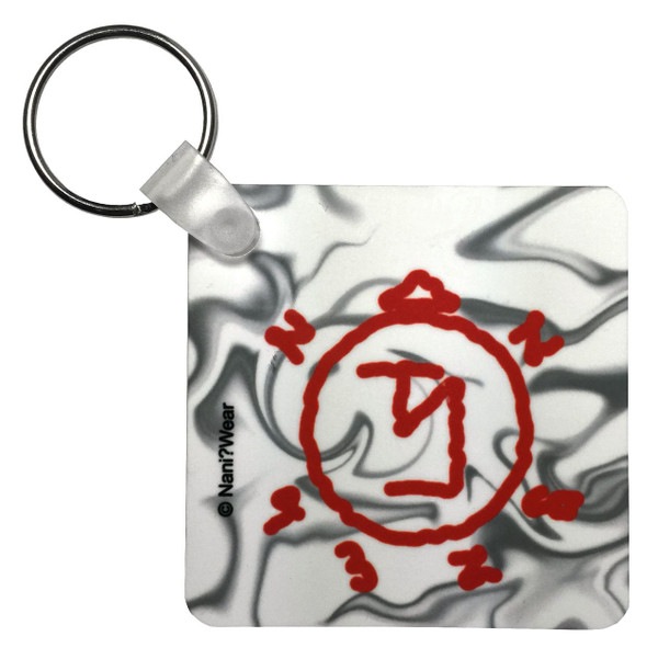 Supernatural Inspired Double-Sided Keychain