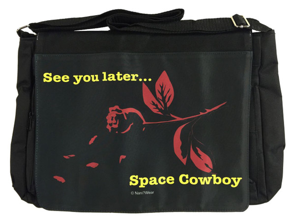 Cowboy Bebop Inspired Large Messenger/Laptop Bag: Space Cowboy