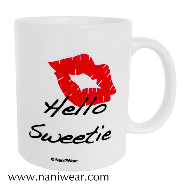 Doctor Who Inspired Double-sided Mug: Hello Sweetie-Spoilers