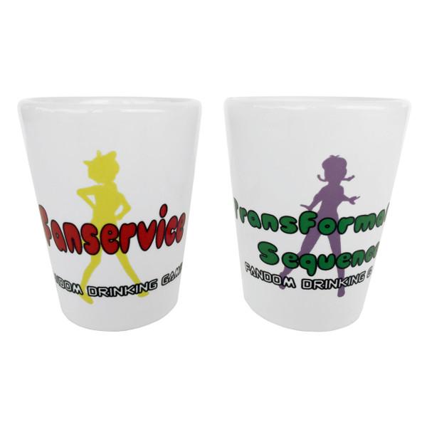 Anime Fandom Drinking Game Shot Glasses