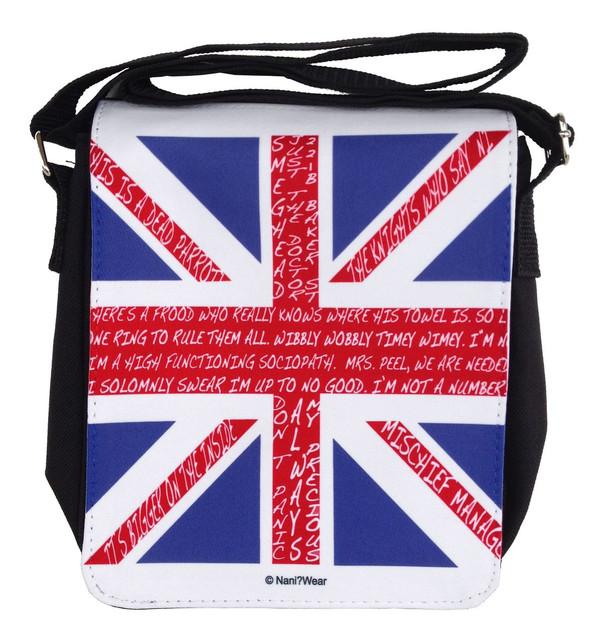 British Fandom Small Messenger Bag