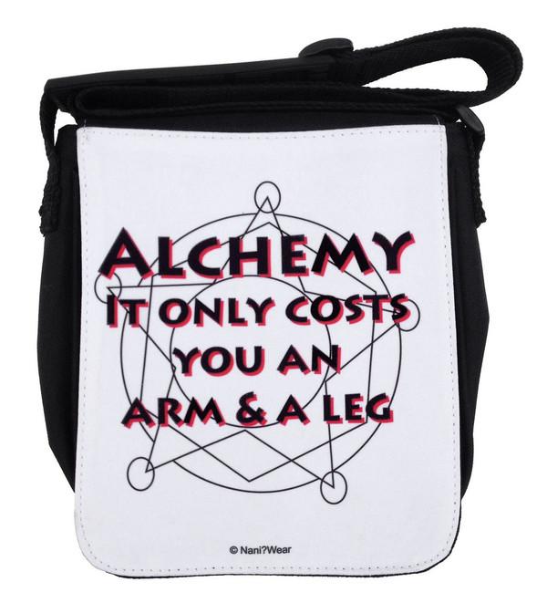 Fullmetal Alchemist Inspired Small Messenger Bag: Alchemy