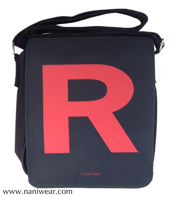 Pocket Monsters Inspired Small Messenger Bag: Team R