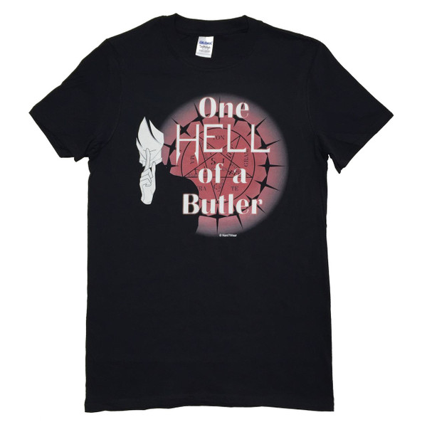 Black Butler Anime T-Shirt One Hell of a Butler