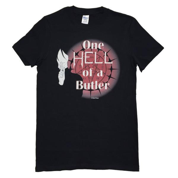 Black Butler Anime Inspired T-Shirt One Hell of a Butler