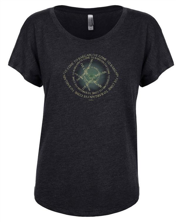 Doctor Strange Women's Dolman T-Shirt I've Come to Bargain