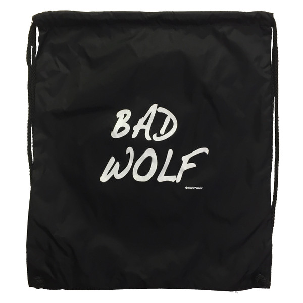 Doctor Who Drawstring Backpack Bad Wolf