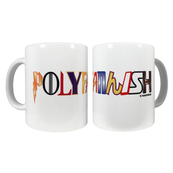 Polyfannish 11oz Ceramic Coffee Mug