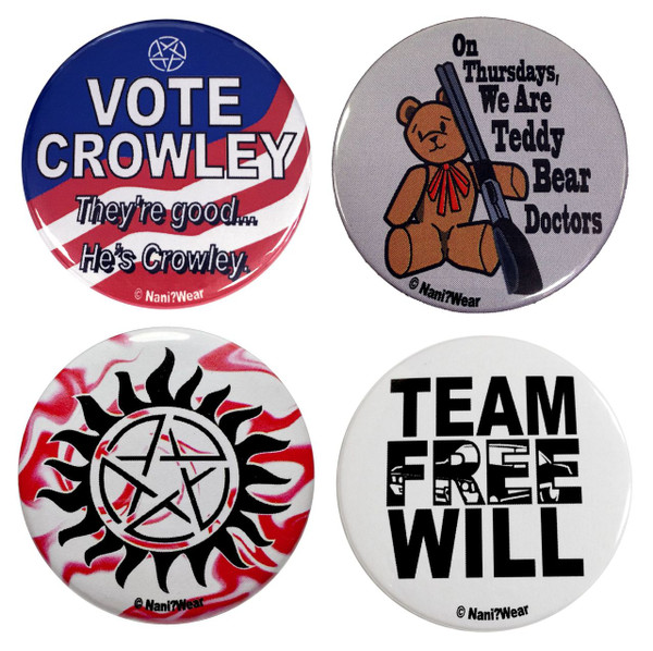 Supernatural Button Set