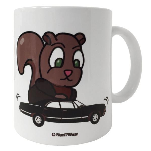 Supernatural Moose & Squirrel 11 oz Coffee Mug