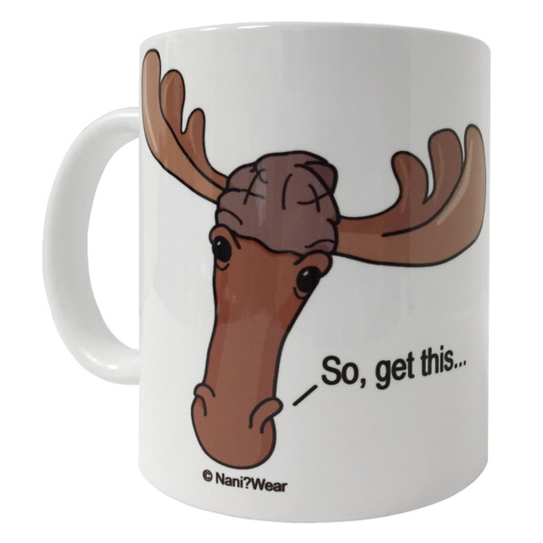 Supernatural Moose & Squirrel 11oz Coffee Mug