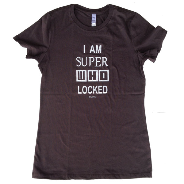 SuperWhoLock Supernatural, Sherlock, and Doctor Who Juniors Fitted T-Shirt