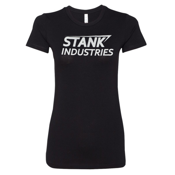 Tony Stark Civil War Junior's Fitted T-Shirt: Stank Industries