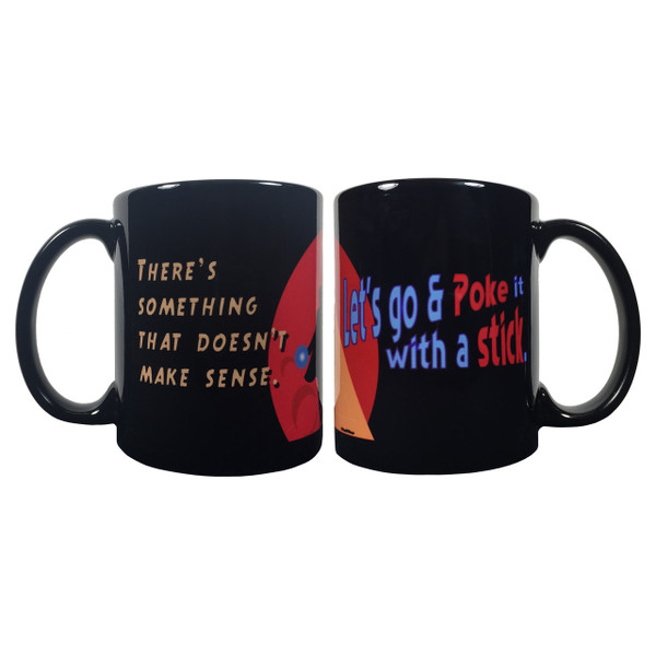 Doctor Who Double-Sided Mug Poke It With a Stick