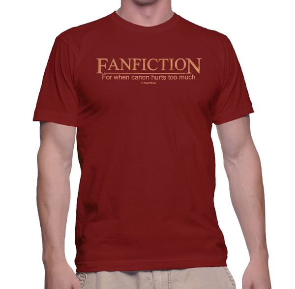 Geek Fan T-Shirt Fanfiction