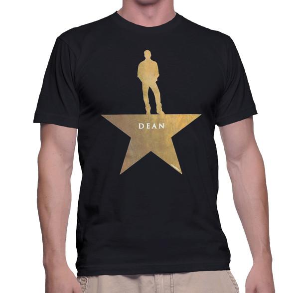 Supernatural Dean Winchester Hamilton Mash-Up Geek T-Shirt