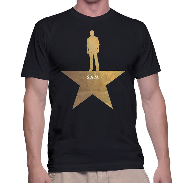 Supernatural Sam Winchester Hamilton Mash-Up Geek T-Shirt
