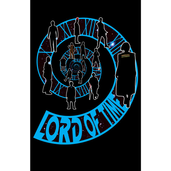 Doctor Who Art Print Lord of Time