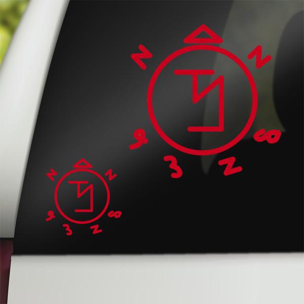 Supernatural Geek Vinyl Car Decal Angel Banishing