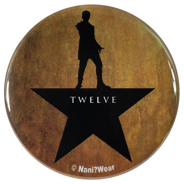 12th Doctor Who Hamilton Mash-Up 2.25 Inch Button