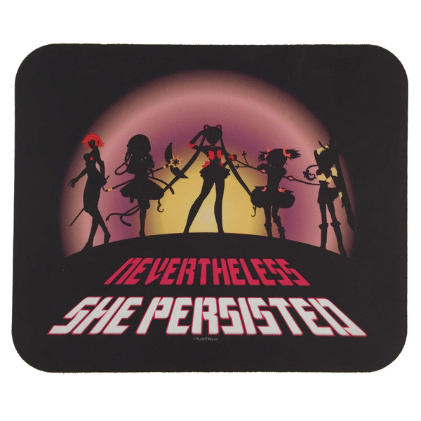 Anime Magical Girls Nevertheless She Persisted Mouse Pad