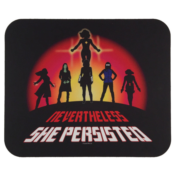 Marvel Super-Heroines Mouse Pad Nevertheless She Persisted