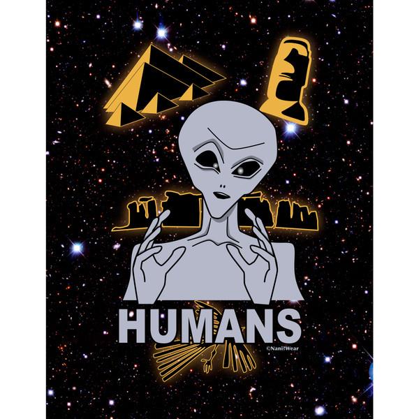 Ancient Aliens Jigsaw Puzzle 252 Pieces Humans