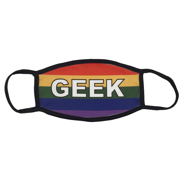 LGBTQA Gay Pride Flag Face Mask