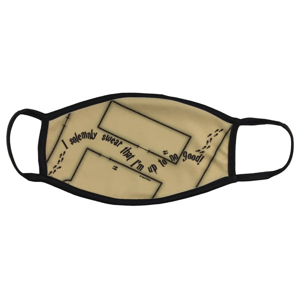 Harry Potter Marauders Map Face Mask I Solemnly Swear That I Am up to No Good