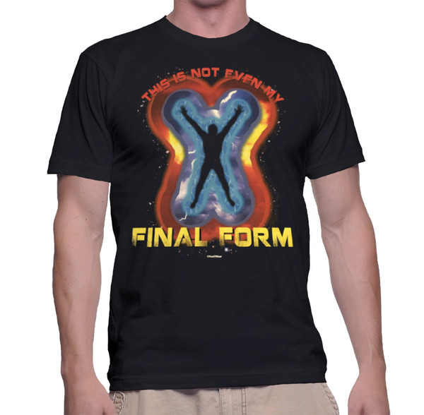Fighting Anime Geek T-Shirt This Is Not Even My Final Form