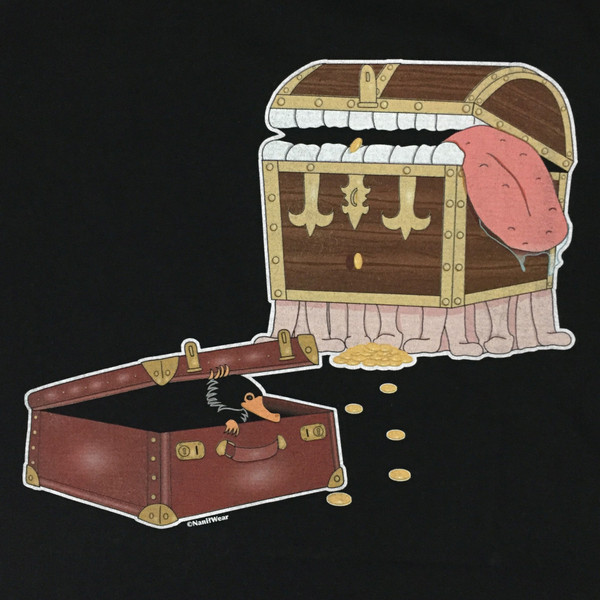 The Color of Magic Luggage Meets Harry Potter Niffler
