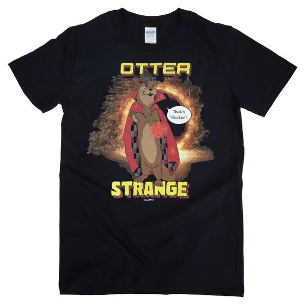 Doctor Strange Sherlock Benedict Cumberbatch Geek T-Shirt Otter Strange