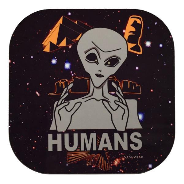 Ancient Aliens Humans Geek Coasters
