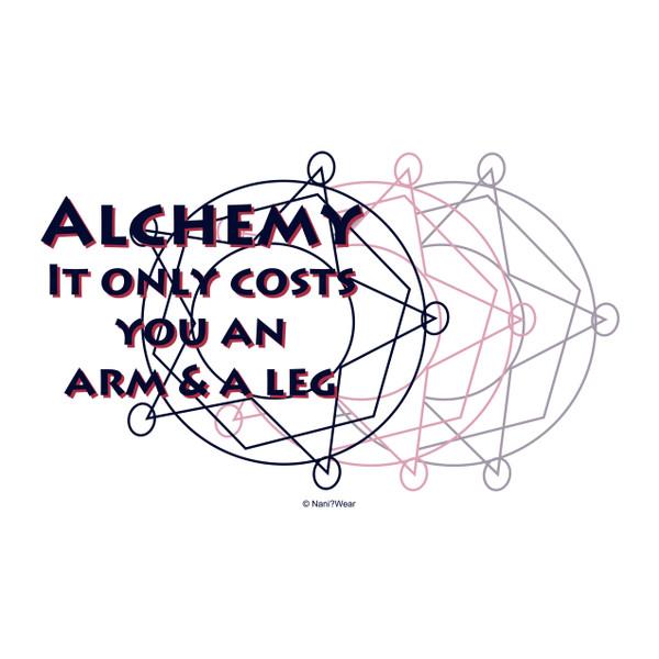 Fullmetal Alchemist Art Print Alchemy Only Costs Arm & Leg