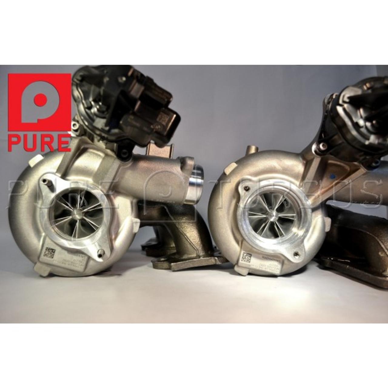 Pure Turbos BMW M3 / M4 (F80 / F82) Stage 2 HF Turbo Upgrade Kit