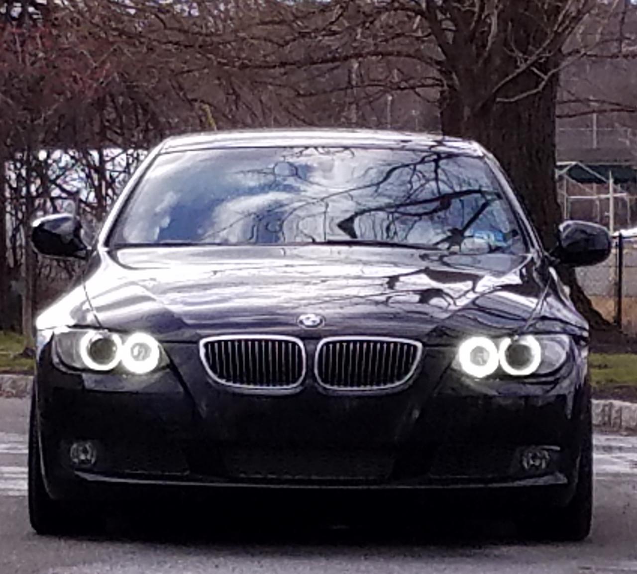 HPB 240 Watt (V2) H8 BMW LED Angel Eye Upgrade BMW E90 / E92 / E82