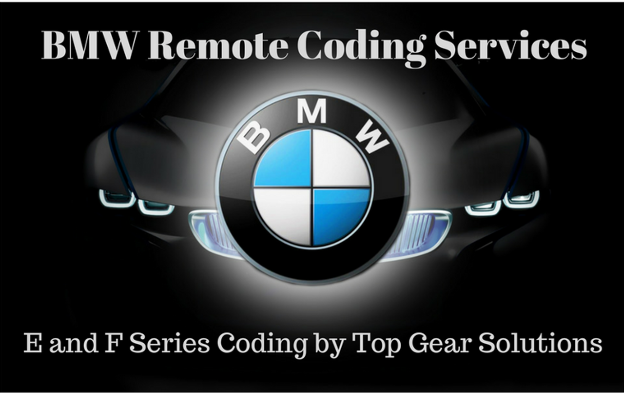 BMW Remote Coding Services from Top Gear Solutions
