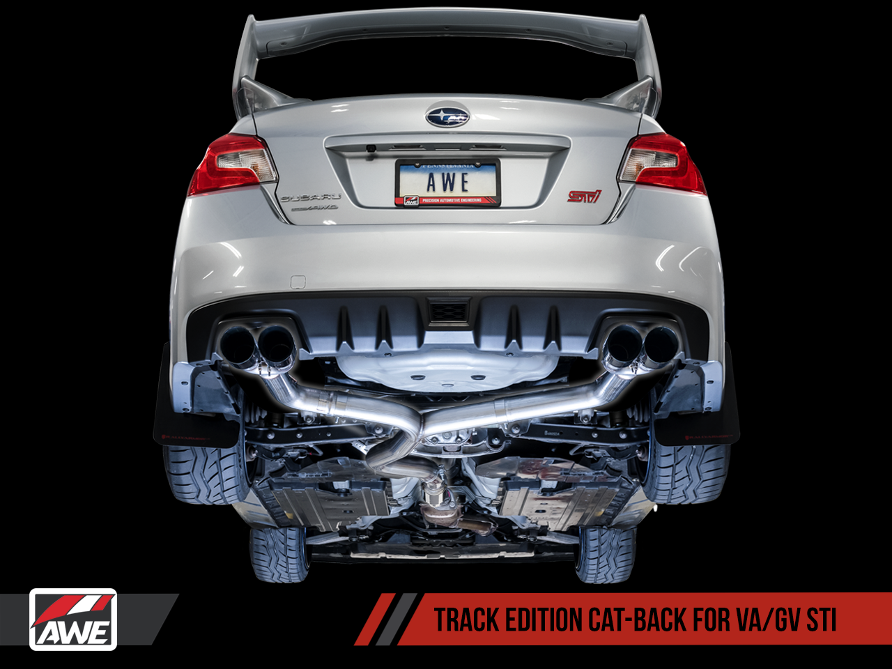 awe tuning track edition exhaust 2011 2018 subaru wrx sti