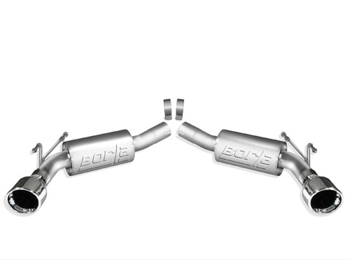 Borla Axle Back Exhaust (S Type) 11775, 2010-2013 Chevy Camaro SS 6.2L V8