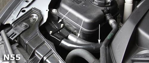 BMS Oil Catch Can (OCC) for BMW 135i 335i N54 / N55