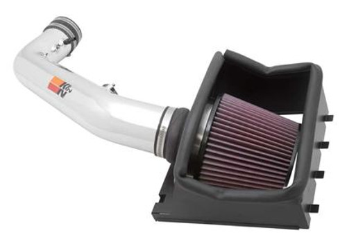 K&N AirCharger Performance Intake 77-2584KP, 2010-2014 Ford F150 Raptor