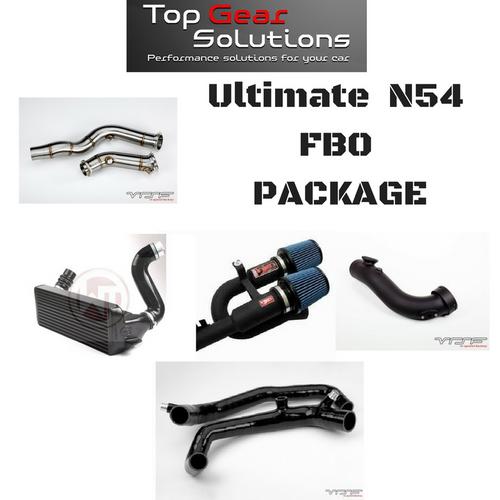 BMS Power Package 10: Ultimate N54 FBO Package Tune Intake Intercooler Downpipe Inlets & More