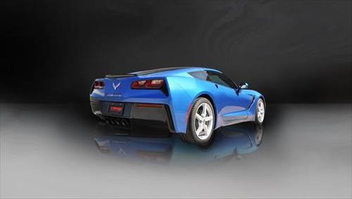 Corsa Valve Back Exhaust (Polished Tips) Sport 14764, Chevy C7 Corvette  Stingray 6 2L