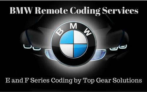 BMW Remote Coding Services  for E & F Series (Alpina PPK & More!)