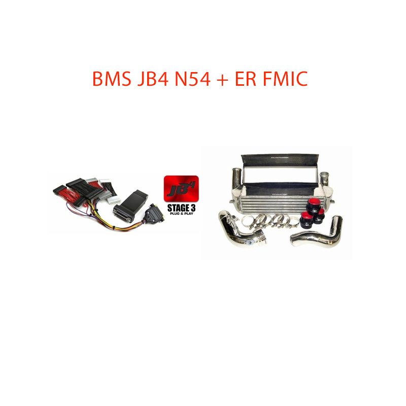 BMS Power Package 6: BMS N54 JB4 + Evolution Racewerks FMIC