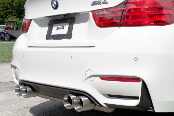 Genuine BMW M3//M4 Black Exhaust Tips