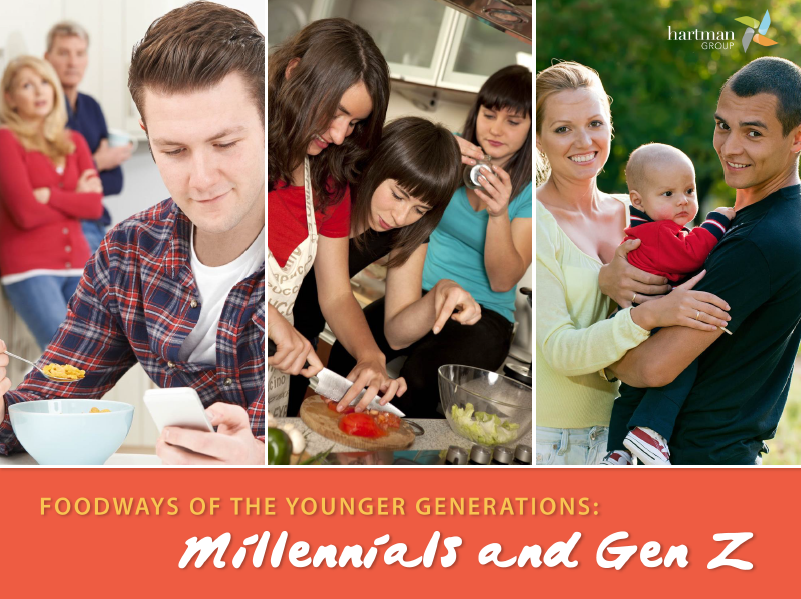 Foodways of the Younger Generations – Millennials & Gen Z