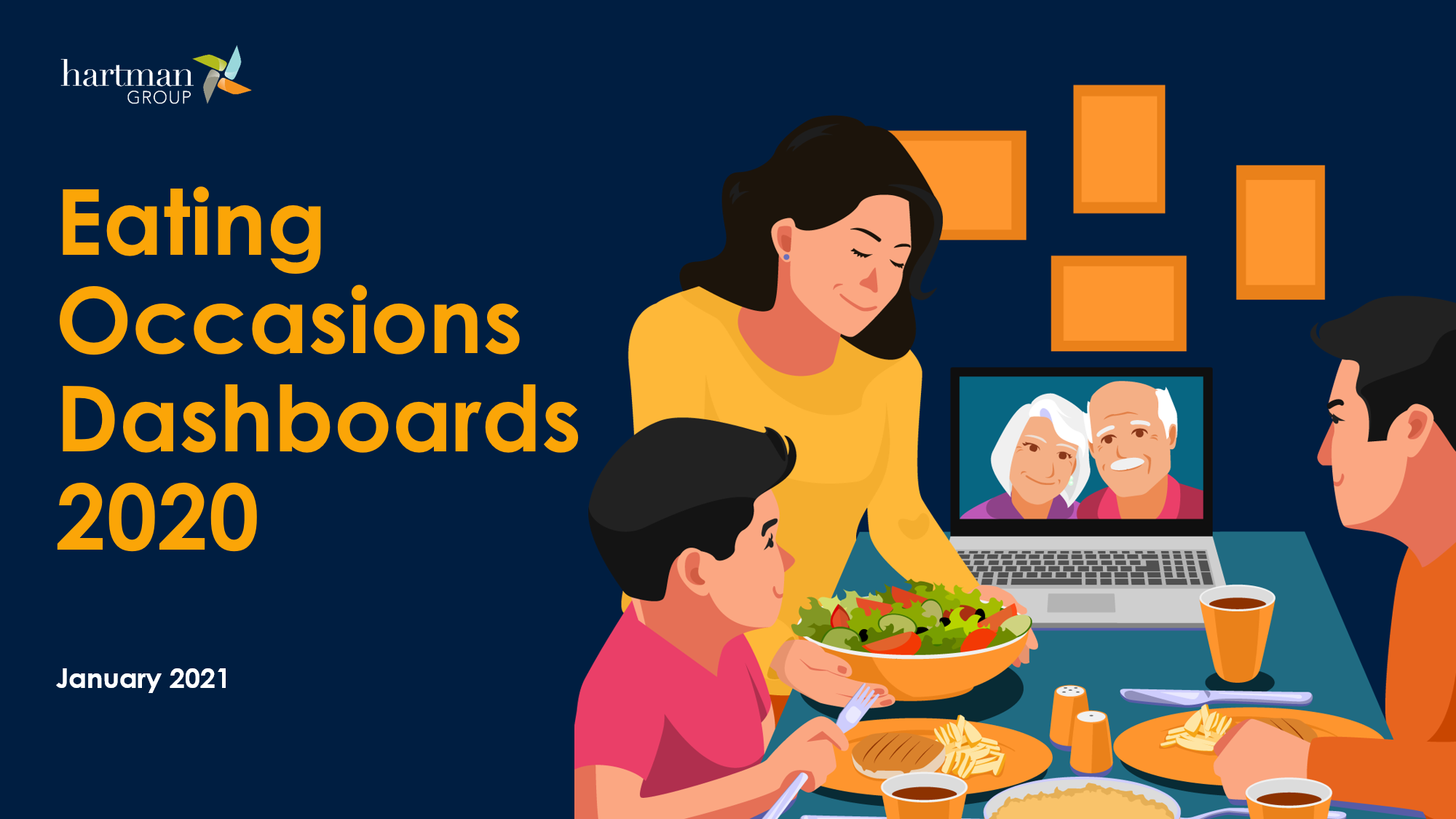 Eating Occasions Dashboards 2020 - TRACKING AMERICA'S FOOD & BEVERAGE CONSUMPTION BEHAVIORS