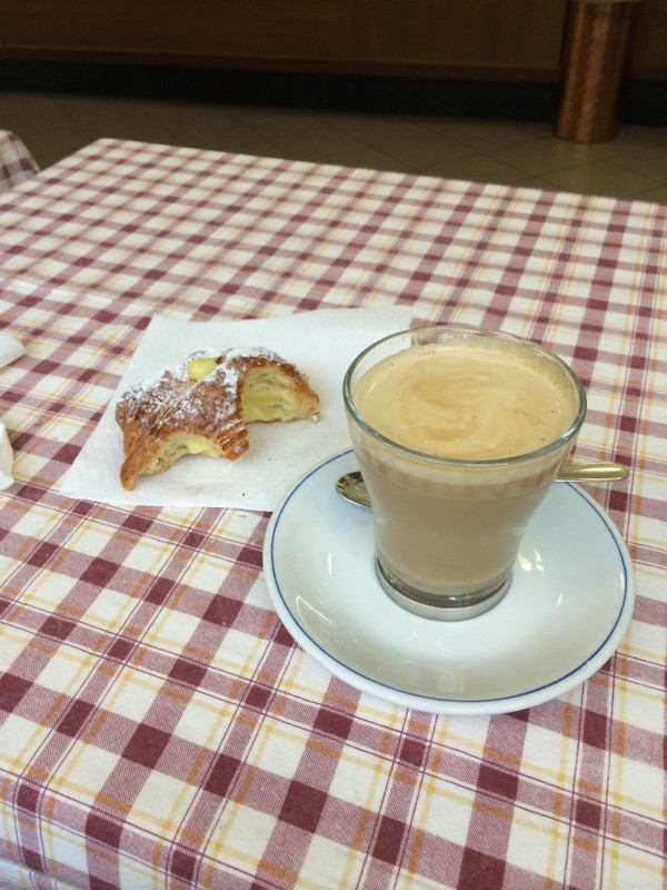 Coffee in Firenze can be inspirational…