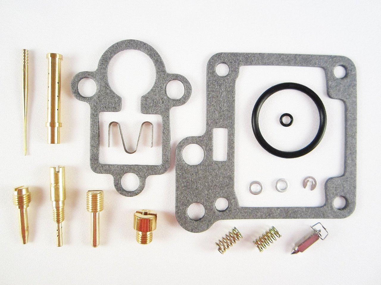 Carburetor Rebuild Kit for 1992-2004 Yamaha Badger 80 YFM80 ATV